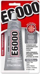 E6000 Craft Adhesive – Waterproof Glue for Rubber to Plastic