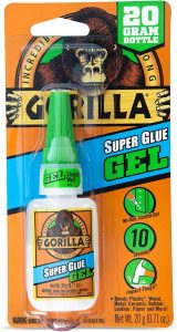 The Gorilla Super Glue Gel