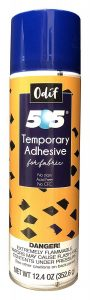Odif USA 505 Spray and Fix Temporary Fabric Adhesive