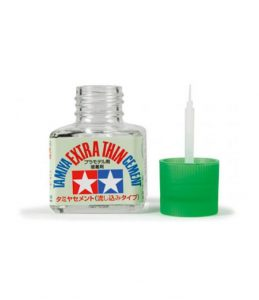 Tamiya 87038 Extra Thin Cement Glue - for Model Airplanes