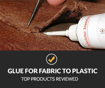 best glue for fabric to plastic