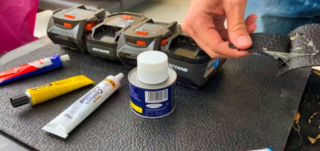 Types of Glue for Rubber