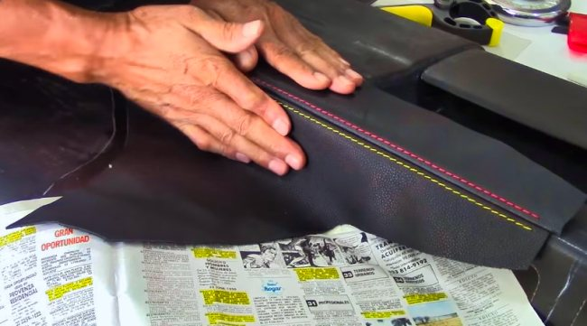 Gluing Fabric to Plastic