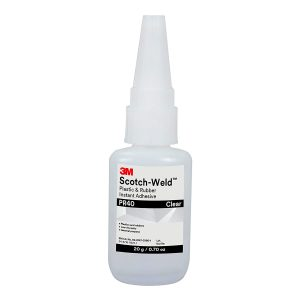 3M Scotch-Weld Plastic & Rubber Instant Adhesive – Low Viscosity Glue for Acrylics