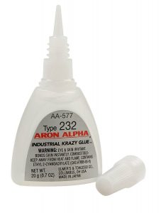 Aron Alpha Type 232 Instant Adhesive – Rapid Drying Glue for Acrylics