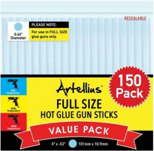 Artellius Full-Size Hot Glue Gun Sticks<