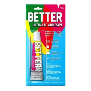 Better Ultimate Adhesive Super Glue – Acrylic Non-Toxic Plastic Glue