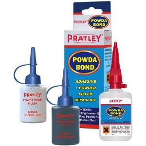 Pratley Powda Bond Adhesive Powder Filler Repair Kit