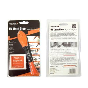 UV Light Glue Kit Clear Adhesive Liquid Plastic Welder