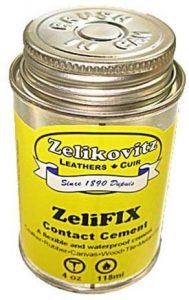ZeliFIX Contact Cement - waterproof glue for rubber to plastic
