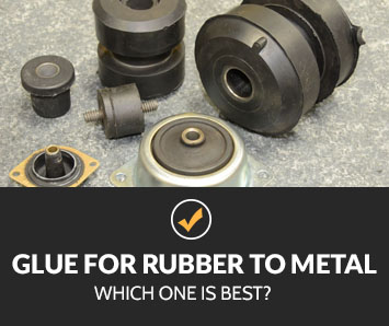 best glue for rubber to metal