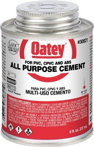 Oatey All-Purpose Cement Low Voc