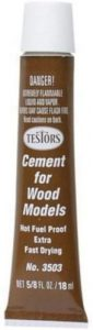Testor Corp Fast Drying Wood Cement - for Wooden Models