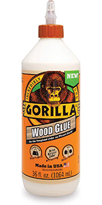 Gorilla Wood Glue for the Toughest Wood Jobs on Earth