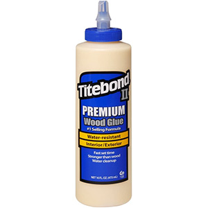 Titebond II Premium Wood Glue – for Particle Board Repair