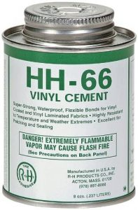 RH Adhesives HH-66 Industrial Strength Vinyl Cement Glue with Brush