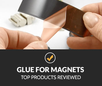 best glue for magnets