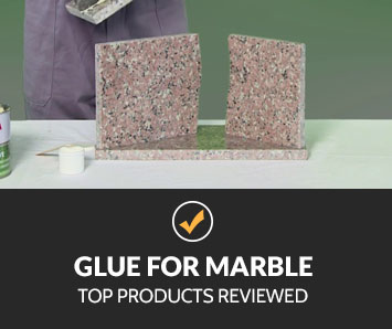 best glue for marble
