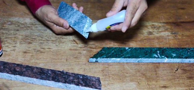 Gluing Marble