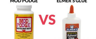 Mod Podge vs Elmer's Glue comparsion