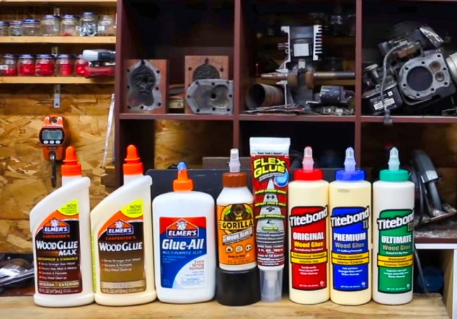 Types of Glue for Wood