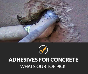 Adhesives for Concrete